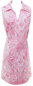 J.McLaughlin short dress Pink, White on Tradesy