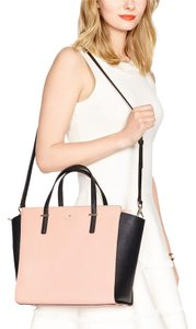 Kate Spade Satchel in Guava and Black