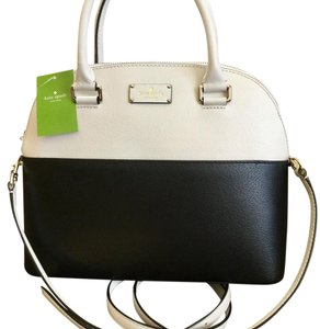 Kate Spade Satchel in Black and white