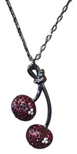 Marc by Marc Jacobs Marc jacobs cherry multi cz necklace NWT