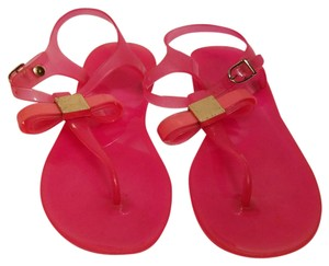 Ted Baker Jelly Bow Pink Sandals