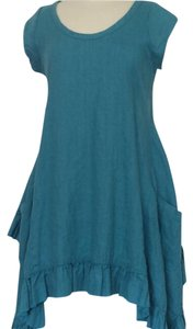 Heart's Desire by Mary Grace short dress Teal on Tradesy