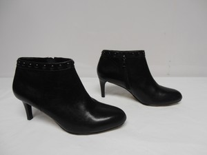 Coach Leather New Without Box Ankle black Boots