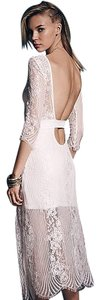 For Love & Lemons Boho Lace Maxi Dress
