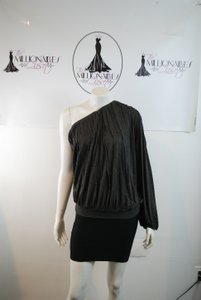Robert Rodriguez One Shoulder Top GRAY