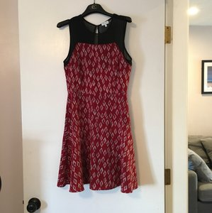 Marabelle short dress red/multi on Tradesy