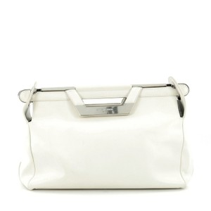 Balenciaga Leather Satchel in White