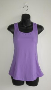 Lululemon cut out slit back lavender tank
