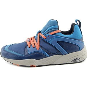 Details about Puma Blaze of Glory Men Round Toe Synthetic Blue Running Shoe Cross Blue Athletic