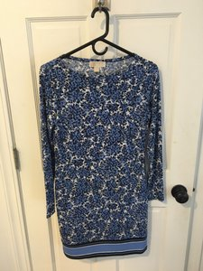 Michael Kors short dress Blue on Tradesy