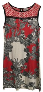 Weston Wear short dress Red Shift Sleeveless Print Cotton on Tradesy