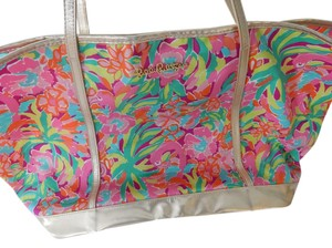 Lilly Pulitzer Multi Lulu Beach Bag