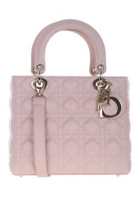 Dior Lady Leather Tote in Blush