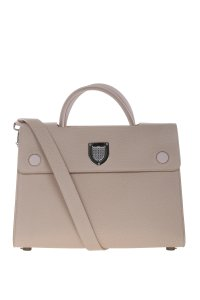 Dior Diorever Leather Handbag Tote in Taupe