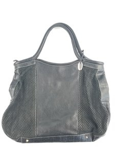 Furla Large Leather Tote in Black