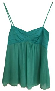 Esley Camisole Date Night Luxury Summer Spring Top Turquoise