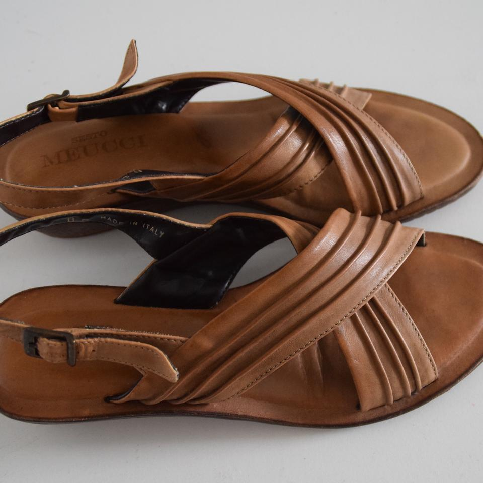 c7bc819cb871 Sesto Meucci Leather Sandals Size US 8 Regular (M