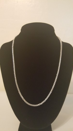 Other ** NWT ** STAINLESS STEEL unisex ( 4MM / 22 INCH ) BASKET CHAIN Image 7