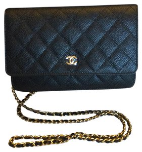 Chanel Brand New Stunning Caviar Leather Rare Timeless Cross Body Bag