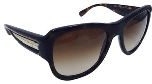 Chanel Chanel Tortoise and Gold Square Sunglasses 5310 55