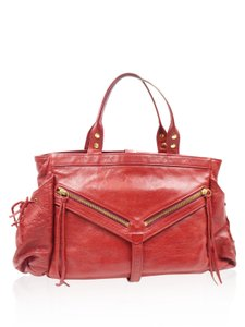 Botkier Leather Satchel in Red