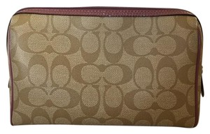Coach Coach Signature cosmetic bag