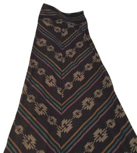 Mossimo Supply Co. Maxi Skirt grey, black, pink, teal, orange, off white