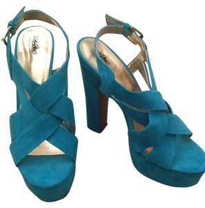 Mossimo Supply Co. Blue Platforms