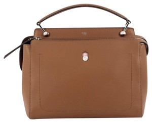 Fendi Dotcom Leather Satchel