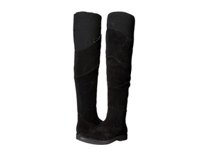 Nine West Stuart Stretch Black Boots