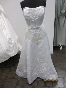 Jasmine Jasmine T144 Bridal Dress Size 16- White (144l) Wedding Dress