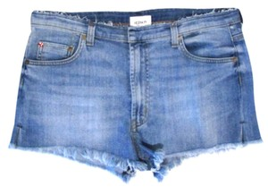 Hudson Jeans Casual River Lake Summer Cut Off Shorts Blue