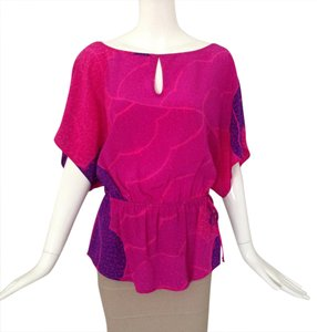 Trina Turk Top pink/ purple