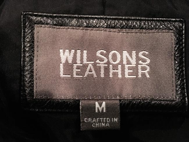 Wilsons Leather Black Jacket