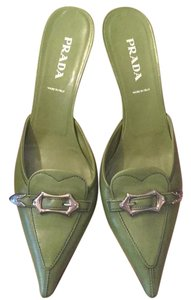 Prada Green Pumps