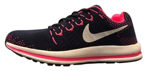 Nike Mens Size 8.5 Zoom Structure Pink/Blue/Green Athletic