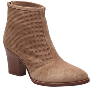 Aquatalia Trendy Chelsea Ankle Tan Boots