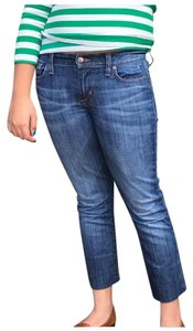 JOE'S Capri/Cropped Denim-Medium Wash
