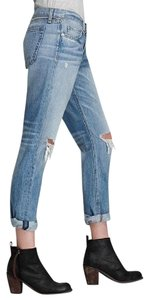 Rag & Bone New Tags Boyfriend Cut Jeans-Light Wash