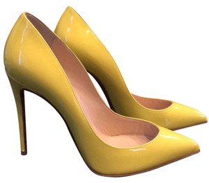 Christian Louboutin Sun Yellow Pumps
