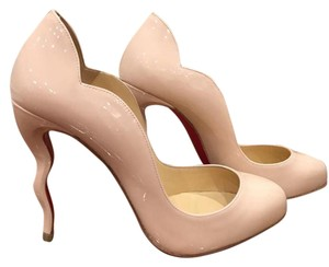 Christian Louboutin Wawy Dolly Curve Stiletto Patent pink Pumps