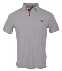 Burberry Brit Burberry Grey Men's polo shirt