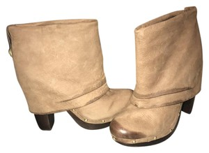 Vince Camuto Designer Taupe Boots