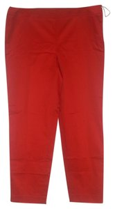 Jones New York Capris Poppy Red