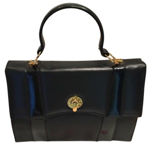 Paloma Picasso Satchel in black/gold