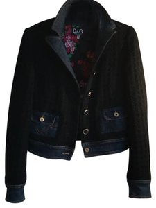 Dolce&Gabbana black Womens Jean Jacket