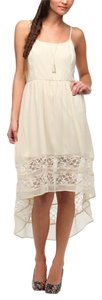 Cream Maxi Dress by Band of Gypsies