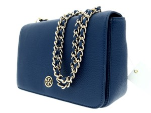 Tory Burch Messenger Blue Navy Cross Body Bag