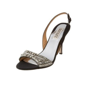 Badgley Mischka Black Silver Formal