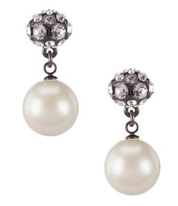 Kate Spade kate spade new york Party Pearls yellow gold plateDouble-Drop Earrings